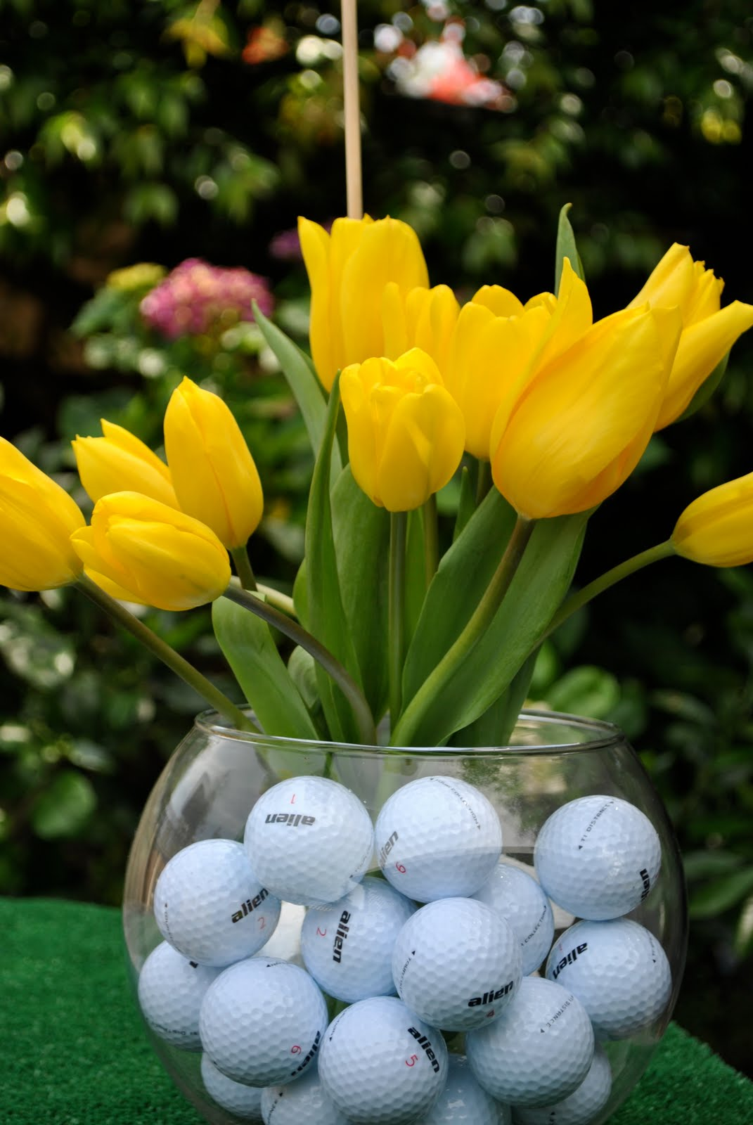 Golf Centerpieces Beautiful Scenery Photography